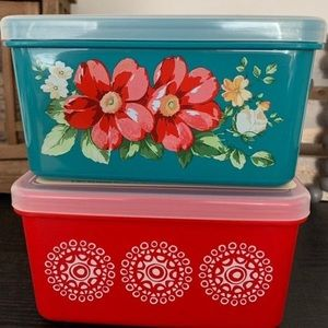 2 New Pioneer Woman Containers 70oz